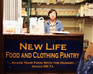 New Life Food and Clothing Pantry © deynsy